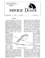 Novice DOPPS (let. 1, št. 3/4, junij/julij 1995)
