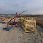 Lesena konstrukcija, foto: Iztok Škornik