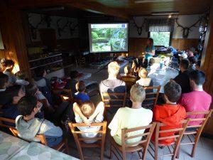 Predavanje o Notranjskem regijskem parku.