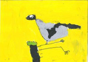 Ptička z rožnatega grička, Lejla Belina, Vrtec Tezno, enota Mehurčki