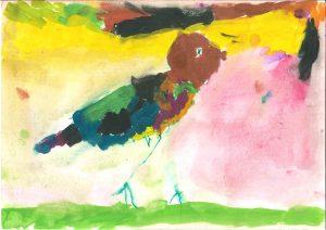 Ptička z rožnega grička, Vid Gregorinčič, vrtec Tezno, enota Mehurčki