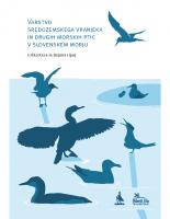 2016, Varstvo sredozemskega vranjeka in drugih morskih ptic