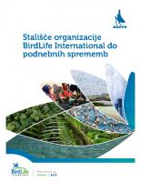 2017, Stališče BirdLife International do podnebnih sprememb