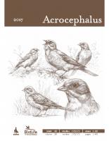 Acrocephalus, 2017, letnik 38, številka 172-173