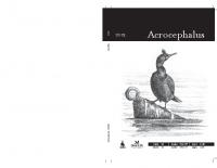 "Acrocephalus, ""year"" 34, number 156-157"
