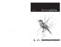 Acrocephalus, 2013, letnik 34, številka 158-159