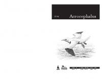 Acrocephalus, 2014, letnik 35, številka 160-161