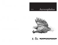 Acrocephalus, 2014, letnik 35, številka 162-163