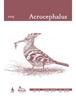 Acrocephalus, 2015, letnik 36, številkat 166-167