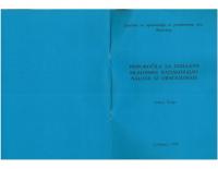 1994, Priporočila za izdelavo mladinske raziskovalne naloge iz ornitologije