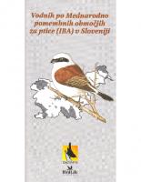 1999, Vodnik po Mednarodno pomembnih območjih za ptice (IBA) v Sloveniji