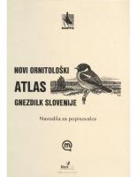 2002, Novi ornitološki atlas gnezdilk Slovenije, Navodila za popisovalce