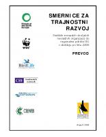 2004, Smernice za trajnostni razvoj, Stališče evropskih okoljskih NVO do regionalne politike EU