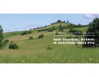 2008, Suhi travniki, pašniki in ogrožene vrste ptic: priporočila za pticam prijazne načine gospodarjenja