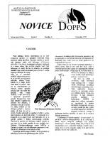Novice DOPPS (let. 1, št. 6, december 1995)