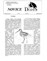 Novice DOPPS (let. 3, št. 2, september 1997)