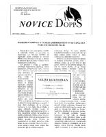 Novice DOPPS (let. 3, št. 3, december 1997)