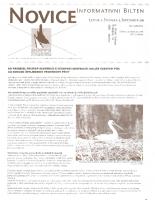 Novice DOPPS (let. 5, št. 5, september 1999)