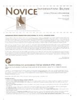 Novice DOPPS (let. 5, št. 6, december 1999)
