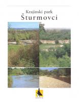 2001, Krajinski park Šturmovci