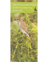 2007, Društvo za opazovanje in proučevanje ptic Slovenije