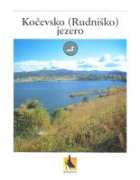 2000, Kočevsko (Rudniško) jezero: naravoslovna učna pot