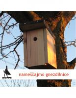 2009, Pomagajmo pticam: nameščajmo gnezdilnice