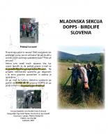 2007, Mladinska sekcija DOPPS – BirdLife Slovenia