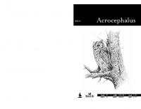 Acrocephalus, letnik 32, številka 148-149