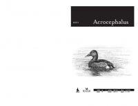 Acrocephalus, letnik 32, številka 150-151