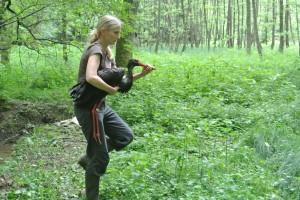 Raziskovalci so s ptico ravnali zelo skrbno in jo zelo hitro spustili nazaj v naravo.