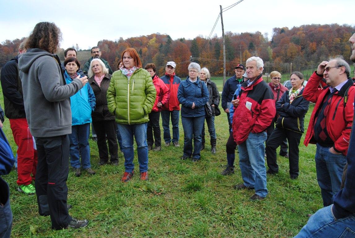 Slovenske gorice obiskali člani društva za ohranjanje zlatovrank iz Avstrije