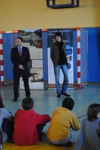 Navzoče sta pozdravila tudi dr. Damijan Denac, direktor DOPPS in g. Gorazd Orešek, predstavnik Mestne občine Ptuj. foto: Mojca Podletnik