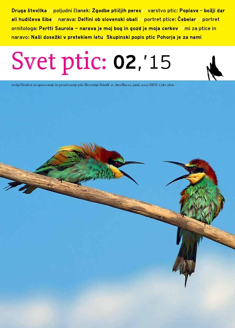 Izšla je poletna številka revije Svet ptic
