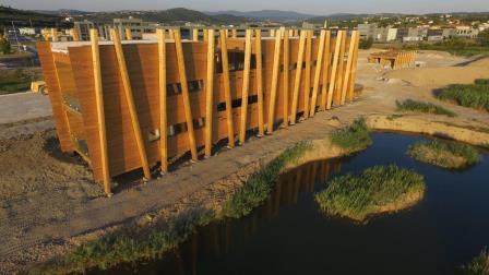 Gradbena dela v NR Škocjanski zatok zaključena, rezervat ponovno odprt v decembru