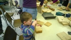 ... kjer so pomagali tudi najmlajši. foto: Neža Kocjan