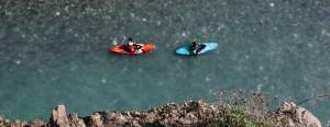 Rok Rozman in Žan Kunčič na zadnji veliki prosto tekoči reki v Evropi - reki Vjosi  ©Anže Osterman