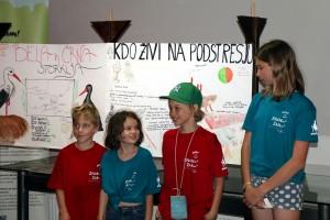 Najmlajši udeleženci na taboru so bili stari le 8 let, vendar so pokazali izjemno zanimanje. foto: Dejan Bordjan