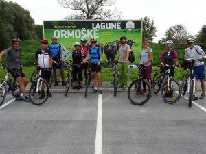 Izlet smo končali v Naravnem rezervatu Ormoške lagune, nato pa se vrnili proti izhodišču.