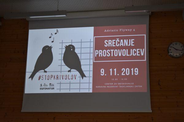 Prvo srečanje prostovoljcev projekta Adriatic flyway 4